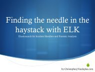Finding_the_Needle_in_the_Haystack_with_FLK_Christophe_Vandeplas