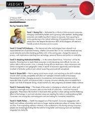 Red Sky Reel Blog - 27 February 2009