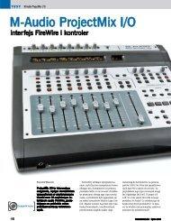 Czytaj test ProjectMix - EiS 07/2006 - Music Info