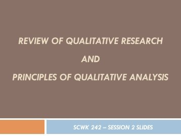 qualitative research critique part 1 Human reproduction, volume 31, issue 3, 1 march 2016, pages 498–501,   qualitative and quantitative research methods are often juxtaposed as  the  crucial part is to know when to use what method  rejection letters are hard to  take but more often than not they are based on legitimate critique.