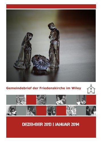 DEZEMBER 2013 | JANUAR 2014 - Friedenskirche Neu-Ulm