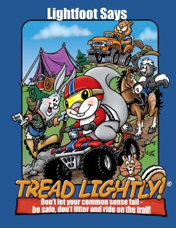 adventures of lightfoot - Tread Lightly