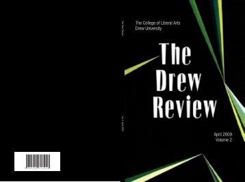April 2009 Volume 2 The College of Liberal Arts Drew University