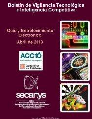 Boletín de Ocio y Entretenimiento Electrónico LO MÁS ... - Secartys