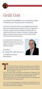 Veranstaltungen im Geistlichen Zentrum - Franziskanerinnen von ... - Seite 2