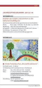 Veranstaltungen im Geistlichen Zentrum - Franziskanerinnen von ... - Seite 3