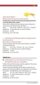 Veranstaltungen im Geistlichen Zentrum - Franziskanerinnen von ... - Seite 7