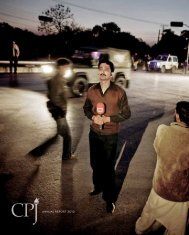 CPJ Annual Report 2012 - Committee to Protect Journalists