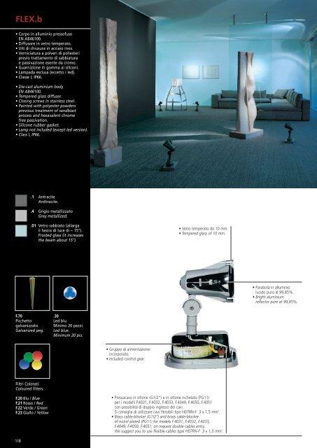 FRANCESCONI cat. 01-63 - Laser Lighting