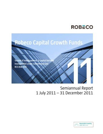 Robeco Capital Growth Funds - Delta Lloyd