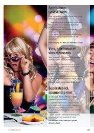Spirituosen, Sekt & Wein Vins, spiritueux et vins ... - Lekkerland.ch