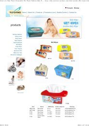 Sensitive Baby Wipes Dispos... - Sanitary products