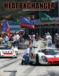 SEPTEMBER 2008 - Shenandoah Region Porsche Club of America