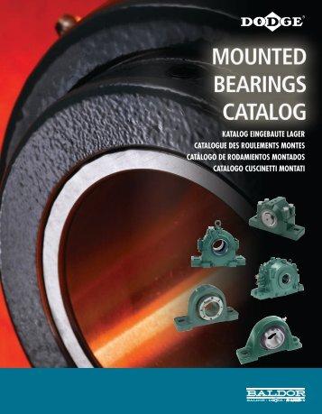 katalog eingebaute lager catalogue des roulements montes ...