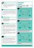 SmartSessions Ready made soccer coaching plans Fast-feet switch - Page 2