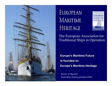 European Maritime Heritage EMH
