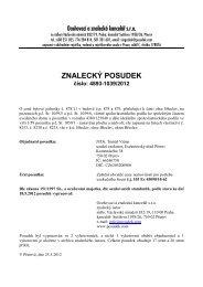 ZNALECKÝ POSUDEK číslo: 4893-1039/2012 - OKdrazby.cz