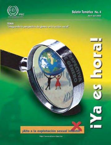 Boletín Temático No. 4 - OIT en América Latina y el Caribe
