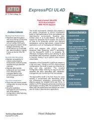 ExpressPCI UL4D Host Adapter