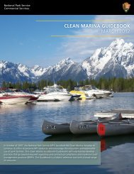 clean marina guidebook march 2012 - National Park Service ...