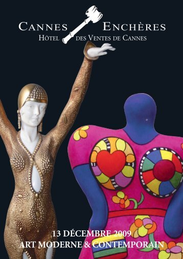 Art moderne et contemporain - Cannes - Enchères