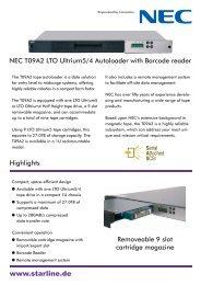 NEC T09A2 Datasheet (PDF) - starline Computer GmbH