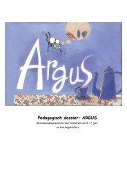 Pedagogisch dossier: ARGUS - Vlaams Instituut voor ...