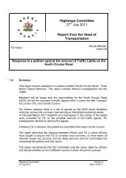 Response to petition against the removal of traffic ... - Brent Council