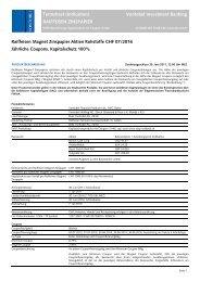 T Termsheet (Indication) Vontobel Investment Banking RAIFFEISEN ...