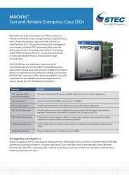 STEC MACH16 SSD