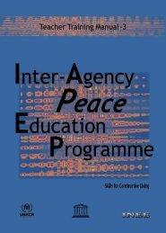 Teacher training manual: level 3; 2005 - INEE