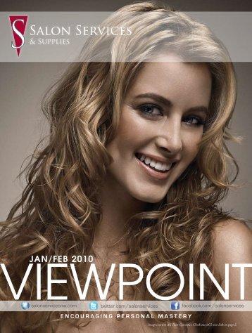 Viewpoint jan/feb 2010 - Salon Services & Supplies