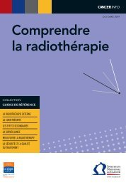 Comprendre la radiothérapie - Institut National Du Cancer
