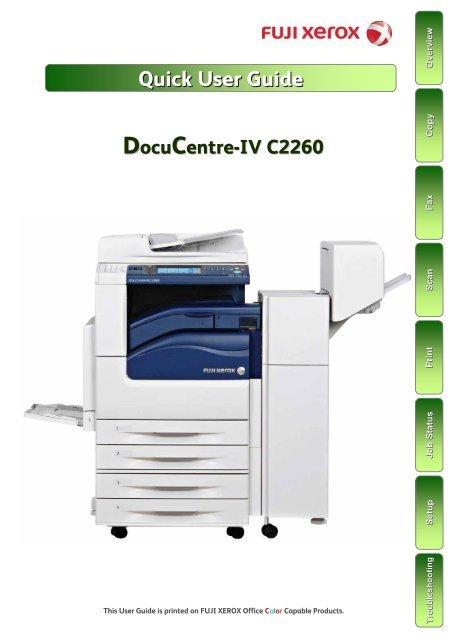 Docucentre Iv C2260 Fuji Xerox Malaysia
