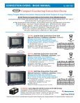 CONVECTION OVENS - Cadco, Ltd - Page 4