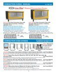 CONVECTION OVENS - Cadco, Ltd - Page 6