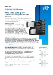 Intel SSD 710 Series Datasheet - starline Computer GmbH
