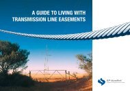 a guide to living with transmission line easements - SP AusNet