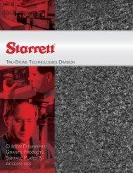 custom engineered granite products, surface plates ... - Starrett