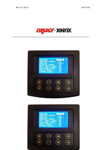 Fireboy Xintex FR-1000-R One Zone Fire Detection and Alarm Panel