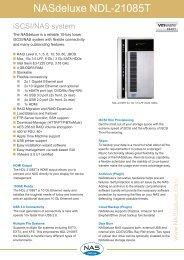 NASdeluxe NDL-21085T Datasheet (PDF) - starline Computer GmbH