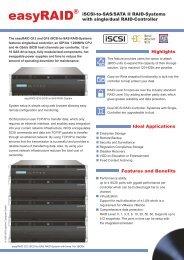 easyRAID Q12S-4GR2 Datasheet (PDF) - starline Computer GmbH