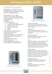 NASdeluxe NDL-2555T Datasheet (PDF) - starline Computer GmbH