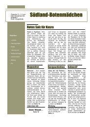 7. Ausgabe - Oase der Vier Palmen