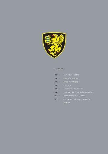 Aastaraamat 2003 (.pdf) - Kaitsepolitseiamet