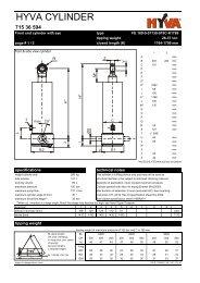 HYVA 71536594 - FE 169-5-07130-019C-K1769 - dominga.lt