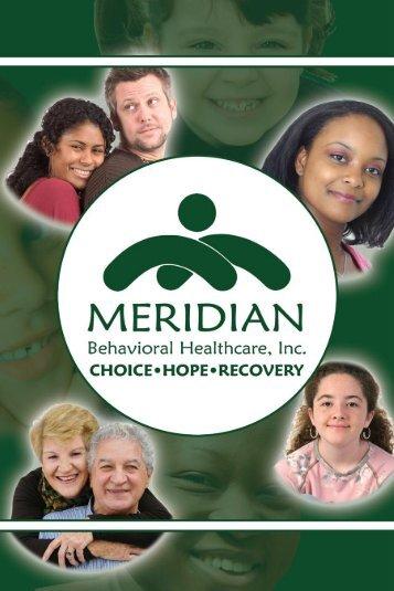 Access Center: 1-800-330-5615 - Meridian Behavioral Healthcare, Inc.