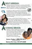 Access Center: 1-800-330-5615 - Meridian Behavioral Healthcare, Inc. - Page 3