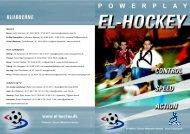 Elhockeyfolder 2008 - Idrætsforeningen for handicappede i Aalborg