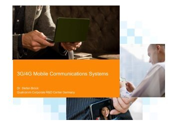 3G & 4G Mobile Communication Systems - Chapter VIII